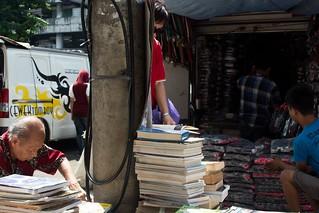 "Street ""books store"", Asemka, Jakarta"