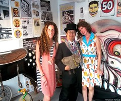 "Dr. Takeshi Yamada and Seara (Coney Island Sea Rabbit) worked as an ""Outside Show Talker (Barker)"" at the Coney Island History Project museum by the Coney Island Beach in Brooklyn, NY in July and August in 2015. With Amanda and Carolyn. August 30, 2015. 2 (searabbits23) Tags: ny newyork sexy celebrity art fashion animal brooklyn painting asian coneyisland japanese star costume tv google king artist dragon god cosplay famous gothic goth performance pop taxidermy cnn tuxedo bikini tophat unitednations playboy entertainer takeshi samurai genius mermaid amc johnnydepp mardigras salvadordali unicorn billclinton billgates aol vangogh curiosities sideshow jeffkoons globalwarming takashimurakami pablopicasso steampunk yamada damienhirst cryptozoology freakshow barackobama seara immortalized takeshiyamada museumofworldwonders roguetaxidermy searabbit coneyislandhistoryproject ladygaga climategate minnesotaassociationofroguetaxidermists"