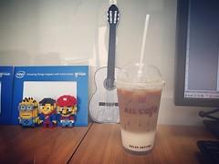 กาแฟสด 7-11 แรงสมคำเล่าลือ #macchiato #coffee #allcafe #711 #bangkok #thailand