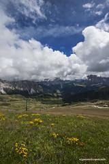 27 (Alessandro Gaziano) Tags: travel italy panorama colors landscape italia foto cielo fotografia colori alpi montagna dolomiti altoadige valgardena alessandrogaziano