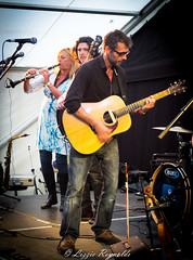 Jose McGill playing with The Vagaband at Ferryfest, Reedham, Norfolk. (lizzieisdizzy) Tags: musician music love festival rock guitar folk gig group band entertainment singer gigs instruments songwriter