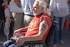 The Last Communist (Manuel Carli) Tags: wheelchair oldman communist angry festadellunit