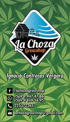Tarjeta de presentacin para La Choza Growshop Casa Matriz (Bastian Klak) Tags: design la flyer weed graphics icons choza growshop