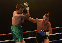 Boxing: Chris Adaway vs Romeo Romaeo (sophie_merlo) Tags: sports sport action boxing