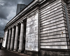 The ionic columns and Portland stone faade of the now redundant Birmingham Municipal Bank (PaulClifford) Tags: lordmayor vault paulclifford cecilhowitt fullcirclephotography