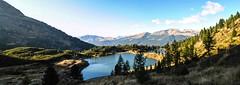 Panoramica_senza titolo1 (Silvia Menegon) Tags: sun mountain set landscape paesaggi montagna trentino