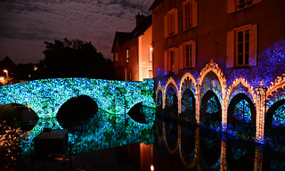 Chartres en Lumières 2015 - Arcades Saint-Hilaire