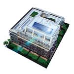 高圧一括受電+太陽光発電による集合住宅の受電システムの写真