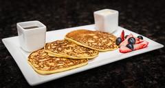 Pancakes (FAKCHANPHOTOGRAPHY) Tags: ohio food pancakes breakfast brunch medina foodphotography tomnoe josephholmes cronut anthonyscolaro ohiomaplesyrup 111bistro medinut tomnoephotography meghanpender oneelevenbistro
