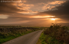 A View Of Criffel (.Brian Kerr Photography.) Tags: light sunset scotland rays criffel dumfries dumfriesandgalloway landscapephotography mouswald slpoty