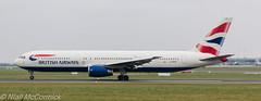 G-BZHA British Airways Boeing 767-336(ER) (Niall McCormick) Tags: dublin airport aircraft british ba boeing airways britishairways airliner b763 eidw 767336er gbzha
