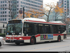 Toronto Transit Commission #1604 (vb5215's Transportation Gallery) Tags: toronto ttc transit orion ng 2008 commission vii hev