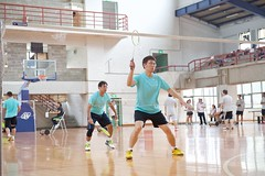 7thMoxaBadmintonIndustrialCup150 (Josh Pao) Tags: badminton 師大附中 羽球 大安站 moxa 第七屆 邀請賽 艾訊 四零四 axiomtek 工業盃 工業電腦盃