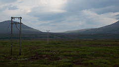 Is anybody out there? (Filippo Sommi) Tags: panorama mountains clouds landscape island iceland powerlines islanda afsdxvrzoomnikkor18105mmf3556ged nikond5100 filipposommi