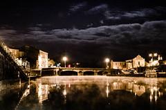 Ode à la mort (Fabrice Le Coq) Tags: dark noir rivière pont nuage extérieur nuit froid brouillard ville brume batiments fabricelecoq