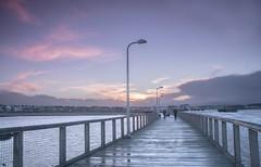 Amble pier (loftylion9) Tags: storm sunrise gales northumberland bamburgh holyisland lindisfarne stmarys blyth amble stmaryslighthouse dunstanburghcastle embleton coquetisland blythbeach lowhauxley bambirghcastle