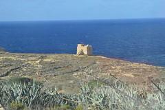DSC_0088 (Chris brocas) Tags: 2016 malta gozo dwejra sea coas watchtower