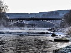 I due ponti di Belluno (Fernando De March) Tags: bellunovittoriapontefiumepiavenebbiagalavernabrina