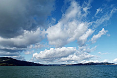 Angel Island clouds (Endomental Artistry) Tags: sanfrancisco california bay water angelisland island landscape