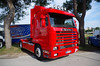 Scania 143M 500 (Andrea the sleeper) Tags: v8 holland style raduno truck paintjob team aquila rapace super la matassina veneto express seguro intercooler spiaggia del faro jesolo