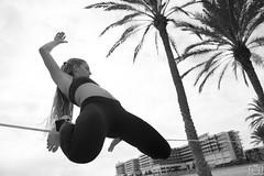 Slack (Sento MM) Tags: slackline cuerda salto estatico chachi palmeras meliá alicante elsotanocoworking sotano exposición