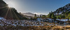 Cairngorms National Park - winter Sunset (grahamwilliamson1985) Tags: cairngormnationalpark cairngorms scotlandsmountains scotland winter snow trees sunstar sunset munro landscapephotography light frost hiking bluesky