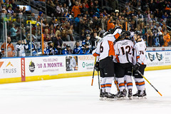 "Missouri Mavericks vs. Wichita Thunder, January 6, 2017, Silverstein Eye Centers Arena, Independence, Missouri.  Photo: John Howe / Howe Creative Photography • <a style=""font-size:0.8em;"" href=""http://www.flickr.com/photos/134016632@N02/31419640833/"" target=""_blank"">View on Flickr</a>"