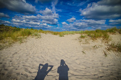 (c) Wolfgang Pfleger-0613 (wolfgangp_vienna) Tags: schweden sweden sverige schonen southsweden kseberga beach strand ystad sandhammaren blue sky blau himmel felder