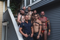 Alex & Jim with Pups & Boys (Kirk Lorenzo) Tags: queer queergaze queermen travels traveling travel trips places place portrait portraiture portraits people sexualidentity sexuality sex scruff sanfrancisco sexual sf deviant deviants deviancy daddy discipline dominanceandsubmission dominance gay gaymen gayman gayjock gaymuscle homoerotic hedonism hedonist homosexual kink kinks kinksters kinky ca leather bdsm puppies pupplay pups boys leatherpride leatherfamily