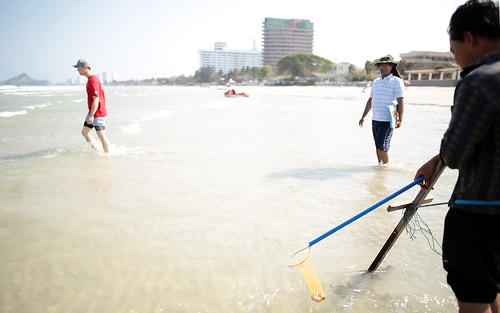 Team building  InterContinental hotel Hua Hin beach
