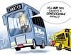 1216 devos education cartoon (DSL art and photos) Tags: editorialcartoon donlee donaldtrump election devos bus education cabinet schools charterschools michigan