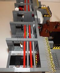 DSCF2240 (Nilbog Bricks) Tags: star wars lego moc minifigures stormtrooper base barracks