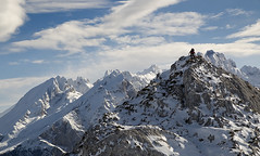 Climbing (elosoenpersona) Tags: montañismo picos de europa asturias alpinismo escalador climber torrecerredo snow nieve hielo españa elosoenpersona invernal cima summit