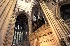 Golden Silence _ the Minster York (jacbfotografie.co.uk) Tags: york minster golden organ church religion stained glass god bible christianity christian worship yorkshire jacquelinebphotografiecouk