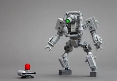 Digital Ombudsman (Legoloverman) Tags: lego robot blip ombudsman