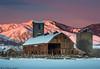 Winter Sunrise with A.M. Dodd & Sons (Bill Bowman) Tags: bouldercounty sunrise winter colorado doddandsonsbarn barn
