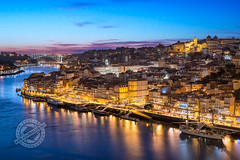 Porto, Portugal (Adam Zoltan) Tags: buildings city cityscape douro downtowndistrict dusk europe europeanunion evening famousplace historical horizontal iberianpeninsula outdoor outdoors panorama popular porto portugal portuguese river riverbank riverside sights sunset tourism touristattractions travel traveldestination urbanscene view canoneos6d canonef50f14usm adamzoltan httpadamzoltannet