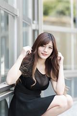 DSC_5504 (錢龍) Tags: 陳葳 d700 美術館 nikon 外拍 美胸 beauty girl sexy