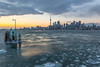 Toronto by the shore (Le.Lapin.Noir) Tags: toronto canada urban urbanshots town city skyline sunset hdr ice winter warmt cold travel traveller wanderlust photography canon 6d eos digital dslr slr tokina wideangle landscape