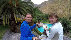 Oaza Sangalle w kanione Colca | Sangalle oasis in the Colca canyon