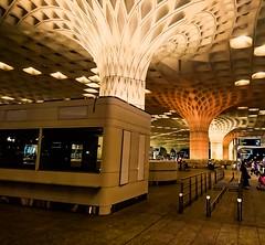 Nightßpöț (Srinivasa Vasu) Tags: xperiaxz flickrtravelaward airport night terminal departure mumbai
