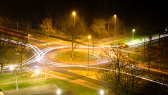roundaboutness (Kenneth K. Karstens) Tags: roundabout longexposure traffictrail