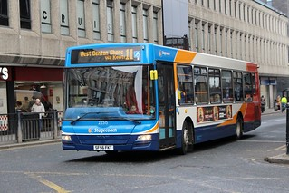 Stagecoach North East: 22515 / SF56 FKT