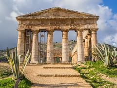 Segesta-3 (aramshelton) Tags: sicily greek greektemple ancient goldenhour