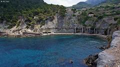 Cala Banyalbufar (dreptacz) Tags: majorka wyspa hiszpania krajobraz natura widok plaża wybrzeże skały klif sony lustrzanka woda morze niebo niebieski zielony slt