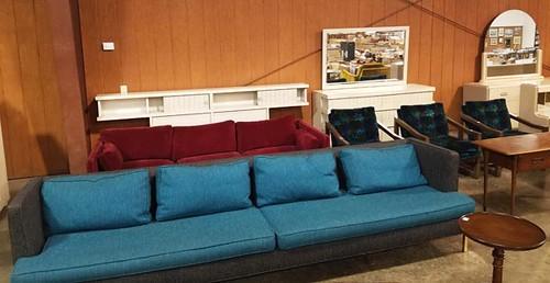 Mid-Century Modern Tempo 10' Sofa ($336.00)