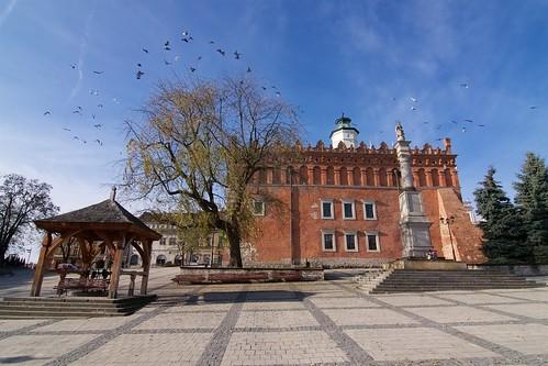 Ratusz w Sandomierzu od wschodu