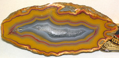 Agate (Borden Formation, Lower Mississippian; eastern Kentucky, USA) 10 (James St. John) Tags: agate nodule nodules geode geodes quartz chalcedony borden formation kentucky mississippian