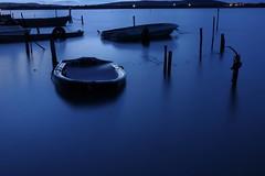 L'heure bleue (Marc ALMECIJA) Tags: pose long longue exposure water eau bleu blue bateau boat villeneuve maguelone sony rx10