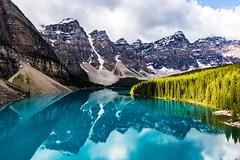 Moraine Lake (adamfredphotography) Tags: morainelake banff banffnationalpark lakelouise alberta canada nature hiking mountain
